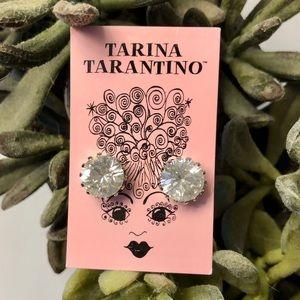 NWT, Tarina Tarantino Crystal Stud Earrings